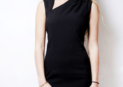 Classic black dress 2