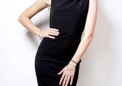 Classic black dress 3