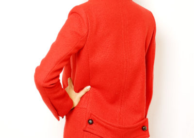 Red coat (back)