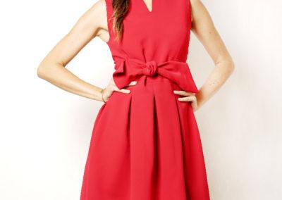 Red dress opera